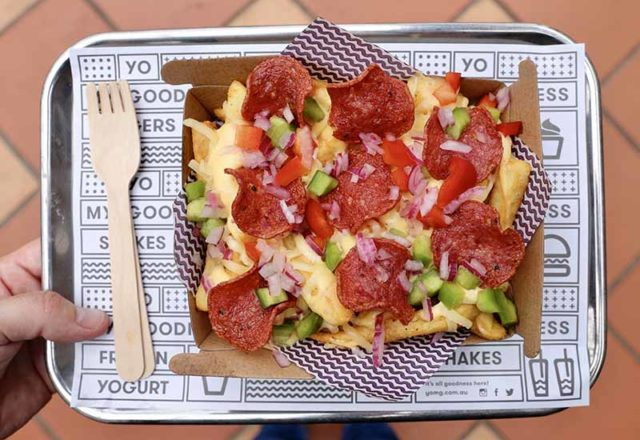 Pepperoni Pizza Fries YOMGlimited